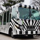 多摩動物公園のライオンバス、運行休止前に車両を公開[写真蔵]