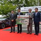 埼玉県がスマート水素ステーション開所式…知事「水素社会を推進する大きな力に」