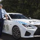 レクサス RC F、オーストラリア警察に配備完了
