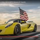 世界最速オープンカー、ヴェノム GT …427.4km/h達成の瞬間[動画]