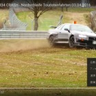 R34 GT-R がニュルでクラッシュ[動画]