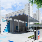 イワタニ水素ステーション大阪森之宮が完成、情報発信施設も併設