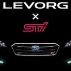 スバル レヴォーグ に「STI」…市販モデルの表情見えた