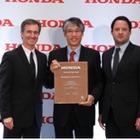 新日鉄住金の米国子会社、北米ホンダのエクセレンス・イン・バリュー2015を受賞