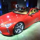 【レクサス LC 日本初公開】「すっきりと奥深い乗り味の実現を目指した」佐藤チーフエンジニア