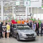 シュコダの最上級車 スペルブ、現行型が累計生産10万台…1年2か月で達成