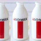 JALの熊本支援プロジェクト、第1弾は「阿蘇の牛乳」で