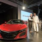 ホンダ NSX 新型、米工場で量産開始…第一号車を引き渡し