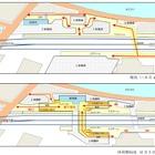 西武鉄道、新宿線中井駅の改札を地下に移動…バリアフリー化で国の基準を達成