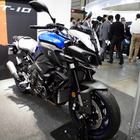【人とくるまのテクノロジー16】ヤマハ、日本未発表の欧州向け最高峰モデル MT-10 を展示…跨りOK