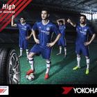 横浜ゴム、新ユニフォームを着用のチェルシーFCを起用した新広告ビジュアルを制作