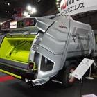 【NEW環境展16】ゴミ収集車もデザインで勝負…モリタの新ブランド戦略