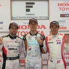 【スーパーフォーミュラ 第2戦】石浦宏明が今季初ポール獲得…予選2-3位にはオリベイラと塚越