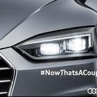 アウディ A5 クーペ 新型、LEDライトが光った