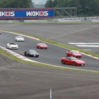 オーナーズイベントにフェラーリ、ランボルギーニ200台以上が集結…富士スピードウェイ