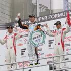 【スーパーフォーミュラ 第2戦】雨でセーフティカー先導走行だけの決着に…石浦宏明が今季初勝利