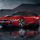 BMW i8 にレッドカラーの特別限定車、創立100周年記念モデル第7弾…2200万円