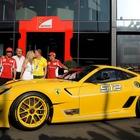 フェラーリ 599 レーサー、グーグル副社長に納車…落札価格は1億4000万円