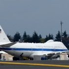 アメリカ空軍、カーター国防長官の来日にあわせE-4Bを運航