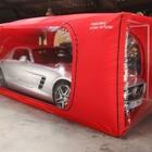 空気循環システム搭載の特殊ボディカバー、大型サイズをラインアップに追加