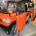 【EVEX15】高校生が手づくりしたEV、四輪駆動で車いす仕様…米沢工業高校