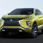 【東京モーターショー15】三菱 eX コンセプト 世界初公開…次世代EVシステム採用の小型SUV
