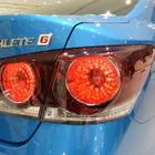【トヨタ クラウン 改良新型】アスリートのリアランプは「戦闘機のアフターバーナー」