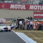 【MotoGP 日本GP】フリー走行で転倒のデ・アンジェリス、肺挫傷と診断