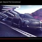 【東京モーターショー15】レクサス LF-FC、燃料電池の高級車という提案[動画]