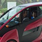 トヨタ、改良型2人乗り i-ROAD の実証実験を渋谷区で開始