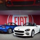 【ロサンゼルスモーターショー15】フィアット 124 スパイダー、北米は160馬力…欧州よりパワフル
