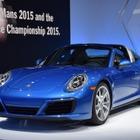 【ロサンゼルスモーターショー15】ポルシェ 911 タルガ4…ダウンサイジングツインターボ搭載[詳細画像]