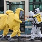 警視庁・石神井署、バスジャックによる国際テロ対策訓練