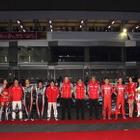 【ニスモフェスティバル15】新旧 日産マシンが富士に集結…SUPER GT両クラス制覇を報告
