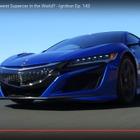 ホンダ NSX 新型、米メディアがサーキットテスト[動画]