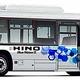 【リコール】路線バス 日野ブルーリボンII、走行中に乗降口が開くおそれ 画像