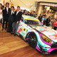 【SUPER GT】2016年版の初音ミク号はAMG GT3…チーム右京体制発表でアンベール 画像