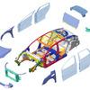 【人とくるまのテクノロジー16】ランクセス、ホンダ クラリティFCのリアバンパービームを初公開