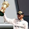 【F1 イギリスGP】ハミルトンが母国GPで3連覇…ロズベルグはペナルティ