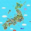 """日本の""""Wonder""""を旅するための地図---不思議な場所、珍スポット、廃墟、奇祭"""