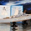 【全日本模型ホビーショー16】アオシマ、「蒼き鋼のアルペジオ」の超戦艦ヤマトとムサシを出品
