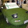 【国際ガーデンEXPO16】社長のセカンドカーはボディが芝生のロードスター…エーエスグリーン