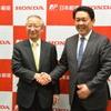 ホンダ、日本郵便との実証実験で二輪車用テレマティクスサービス商用化に前進