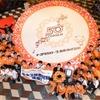 【カローラ 50周年】来店客と作り上げた「世界一巨大な花冠」、直径6.148mでギネス認定