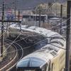 『四季島』北海道内初営業、登別駅では旗振りで熱い歓迎---JR東日本の豪華寝台列車