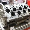 【人とくるまのテクノロジー2017】ブガッティ ヴェイロン / シロン のW16エンジンブロックを発見