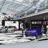 【ホンダ フィット 改良新型】ジャンプ人気作品の原画世界をバーチャルドライブ 7月6日よりコラボイベント開催
