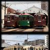 現役最古の路面電車が勢揃い…阪堺電車がモ161形と金太郎塗り車両の撮影ツアー 9月16・17日