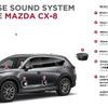 【マツダ CX-8】ボーズ、専用設計の10スピーカーサウンドシステムを提供