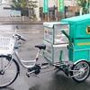 リヤカー付三輪電動アシスト自転車のアシスト力上限を引き上げ